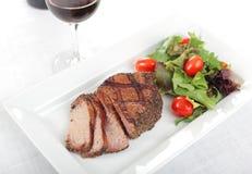 Pepper steak Stock Images