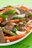 Pepper Steak Stock Photo