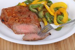 Pepper Steak Royalty Free Stock Images