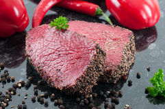 Pepper Steak Stock Image
