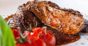 Pepper steak souce Stock Photo