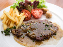 Pepper steak Royalty Free Stock Image