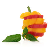 Pepper Stripes Stock Photography