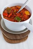 Pepper with tomato sauce Stock Image