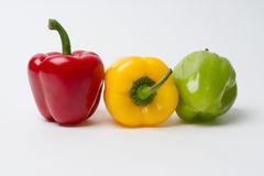 Pepper Traffic Lights - Stop Royalty Free Stock Images
