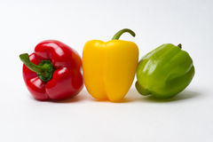 Pepper Traffic Lights - Warning Royalty Free Stock Photo