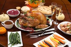 Pepper Turkey for Thanksgiving Stock Photography