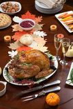 Pepper Turkey for Thanksgiving Royalty Free Stock Images