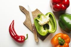 Pepper vegetable Stock Image