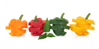 Pepper Vegetables Royalty Free Stock Photos