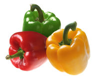 Pepper on white Royalty Free Stock Photo