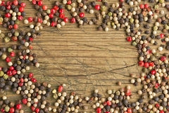 Peppercorn background Royalty Free Stock Photography