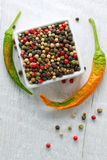 Peppercorn mix Royalty Free Stock Images