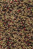 Peppercorn mix texture background Royalty Free Stock Photography