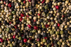 Peppercorn mix texture background Royalty Free Stock Photos