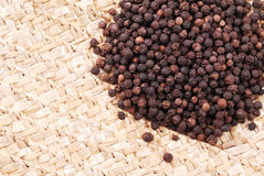 Peppercorn Spice Stock Photo