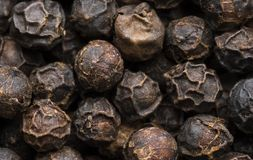 Peppercorn Texture. Macro image of peppercorns Royalty Free Stock Images
