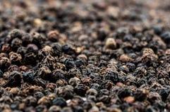 Peppercorns pretos imagens de stock