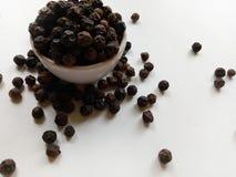 Peppercorns Spice Stock Photo