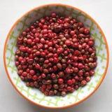 Peppercorns vermelhos Fotos de Stock