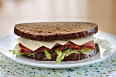 Peppered Beef Sandwich Stock Image