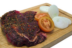 Peppered steak Royalty Free Stock Photos