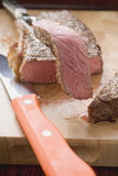Peppered steak Stock Photo