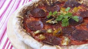 Pepperini пиццы Стоковые Фото