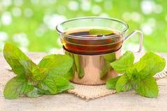 Peppermint τσάι στοκ εικόνες