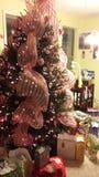 Peppermint χριστουγεννιάτικο δέντρο Στοκ εικόνες με δικαίωμα ελεύθερης χρήσης