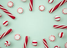 Peppermint Background. With Space to Write Royalty Free Stock Images