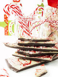 Peppermint Bark Stock Photos