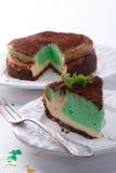 Peppermint cake Stock Photos
