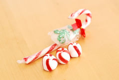 Peppermint Candies Royalty Free Stock Images