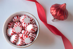 Peppermint candies Royalty Free Stock Photography