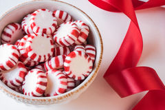 Peppermint Candies Stock Photos