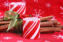Peppermint Candles Royalty Free Stock Images