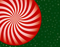 Peppermint Candy Christmas Background. Red and White Peppermint Candy Christmas Background Stock Images