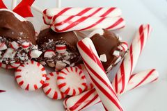 Peppermint candy Stock Photo