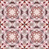 Peppermint Candy Kaleidoscope Seamless Background Pattern Stock Photos