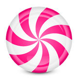 Peppermint candy. Vector illustration of peppermint candy Royalty Free Stock Photos