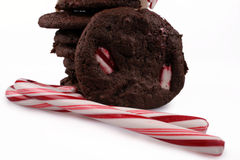 Peppermint Cookies Stock Photography