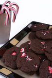 Peppermint Cookies Royalty Free Stock Photos