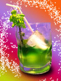 Peppermint drink royalty free stock photography