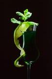 Peppermint liquor Royalty Free Stock Photos