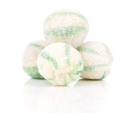 Peppermint olorful candies Stock Images