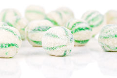 Peppermint olorful candies Stock Photo