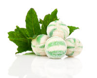 Peppermint olorful candies Stock Photography