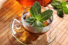 Peppermint tea Royalty Free Stock Photography