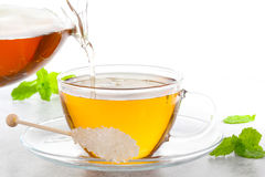 Peppermint tea Royalty Free Stock Images